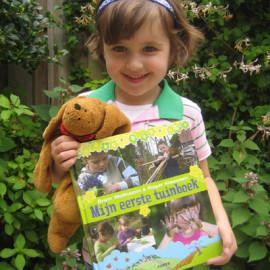 'Mijn eerste tuinboek': het boek is er!!