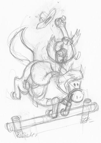 schets_paard