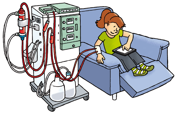 dialysis cartoon