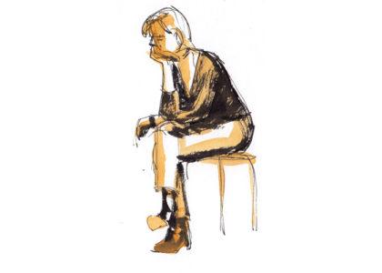 Life drawing/modeltekenen
