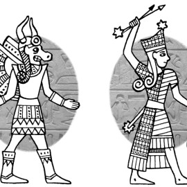 Jerusalem & Egyptian gods