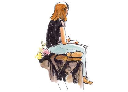 Modeltekenen/life drawing