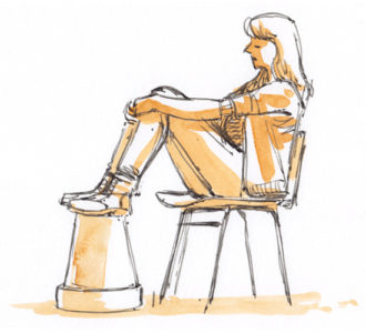 Model – Life drawing