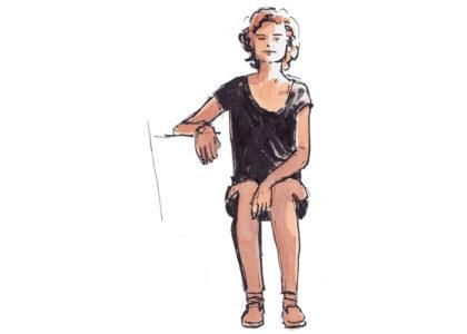 Life drawing – modeltekenen