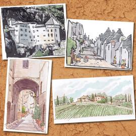 Weekend sketches