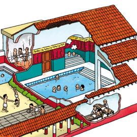 Roman baths – Romeins badhuis