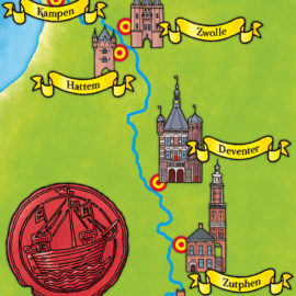 Hanzesteden – Hanseatic cities
