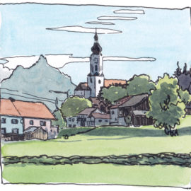Holiday sketches – Vakantieschetsen (1)