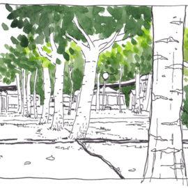 Holiday sketches – Vakantieschetsen (1)