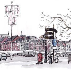 Urban Sketchers Nederland: Maastricht