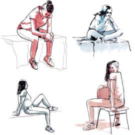 Modeltekenen – Life drawing