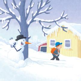 Snowman – Sneeuwpop
