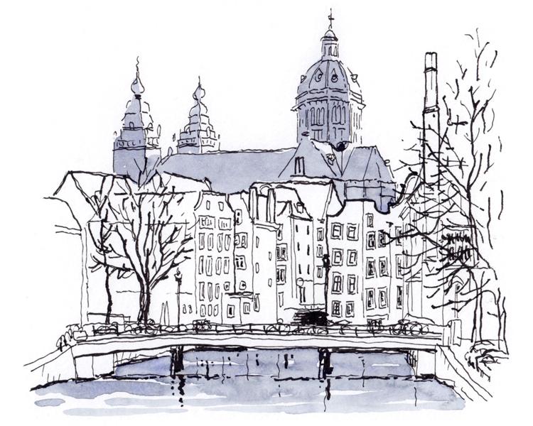 Urban Sketchers NL